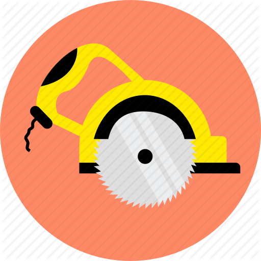 Carpenter, Disk, Joiner, Saw, Tool, Woodcutter, Woodworking Icon