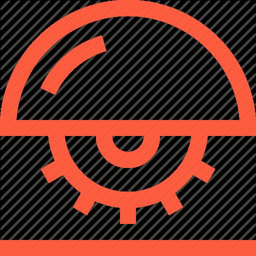 Circular, Cut, Machine, Saw, Tool, Wood, Woodworking Icon