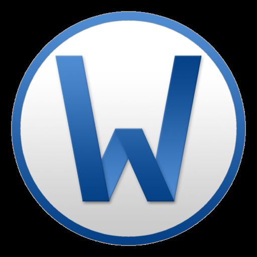 Word Circle Icon Microsoft Office Yosemite Iconset Matthew Pollak