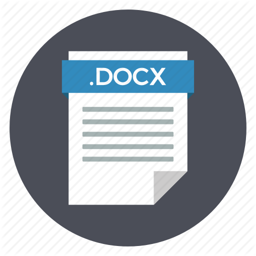 Document, Docx, File, Format, Text, Word Icon
