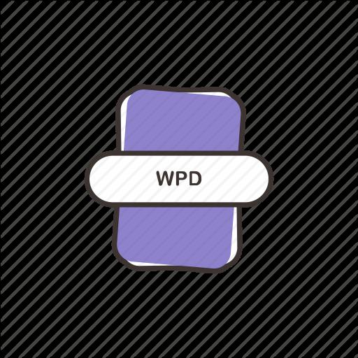 Document, Sheet, Wordperfect, Wpd, Wpd Icon Icon