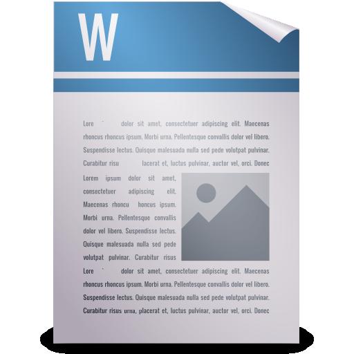 Gnome, Mime, Wordperfect Icon