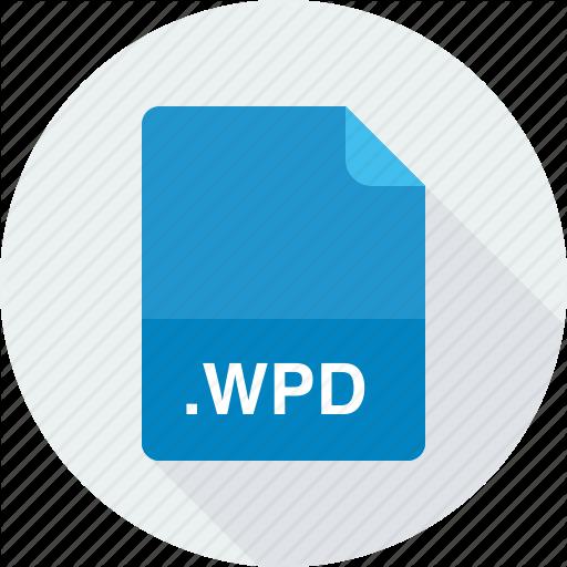 Wordperfect Document, Wpd Icon