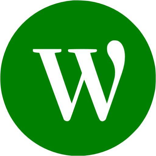 Green Wordpress Icon