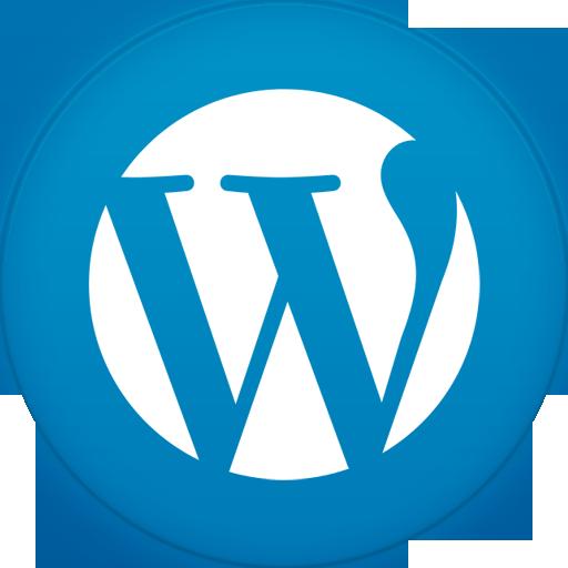 Wordpress Icon Circle Iconset