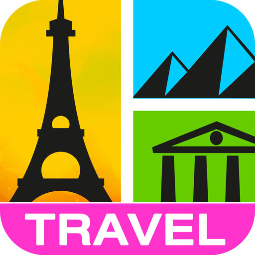 Guess It! Pic Travel Free Trivia Word Scramble Quiz Game Have