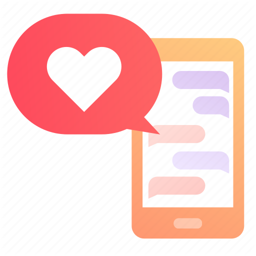 App, Dating, Love, Message, Sweet, Valentine, Words Icon