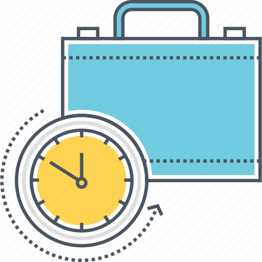 Briefcase, Experience, History, Overtime, Portfolio, Suitcase