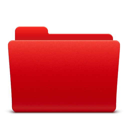 Red Folder Icon Images