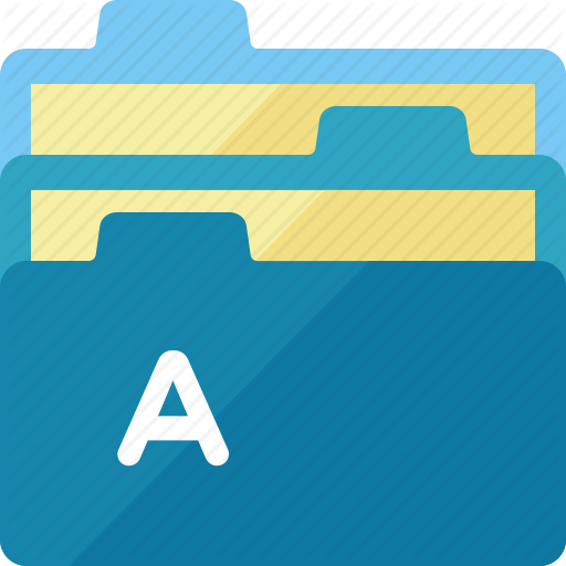 Bookkeeping, Files, Folder Icon