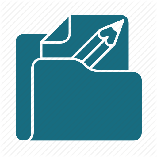 Document, Edit, Editable, Files, Folder, Format, Work Icon