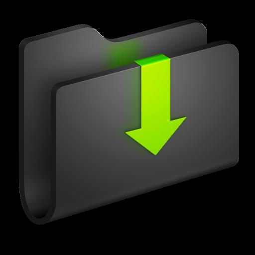 Downloads Black Folder Icon Alumin Folders Iconset Wil Nichols