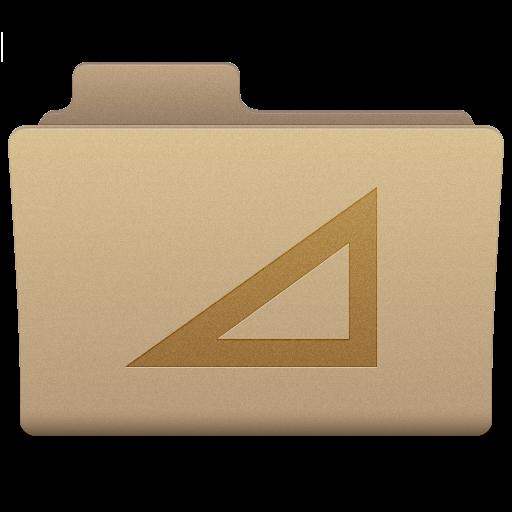 Yellow Work Folder Icon