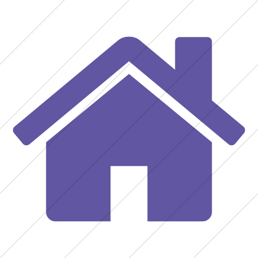 Simple Purple Bootstrap Font Awesome Home Icon