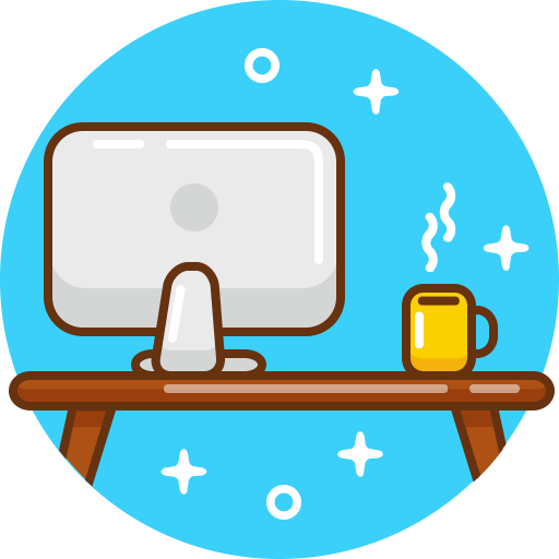 Computer, Device, Mac, Pc, Work, Workplace, Workspace Icon