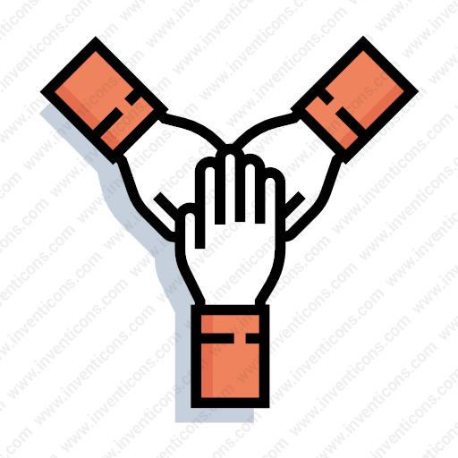 Download Teamwork,partnership,work Together Icon Inventicons