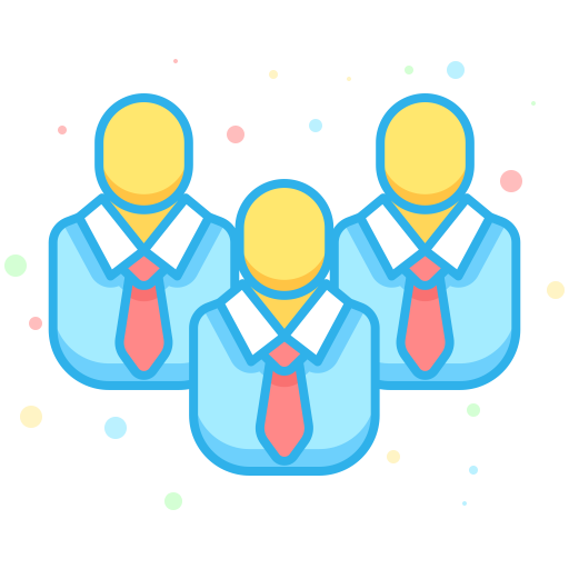Team Work Icon Business Economic Iconset Inipagi Studio