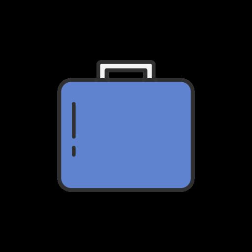 Briefcase, Job, Suitcase, Work, Facebook Icon Free Of Facebook