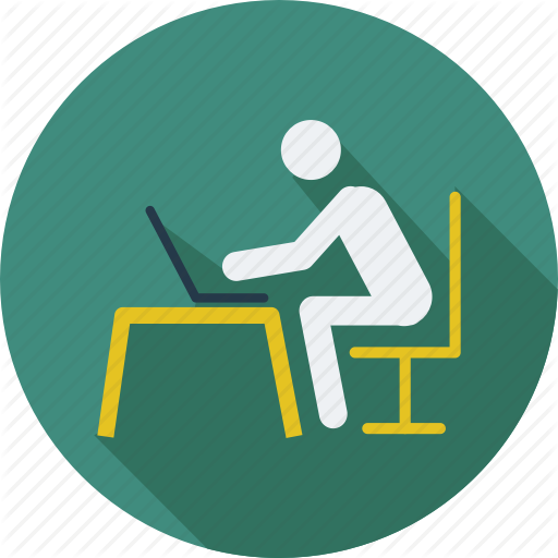 Man, Online Work, User, Work, Work In Progress, Worker Icon