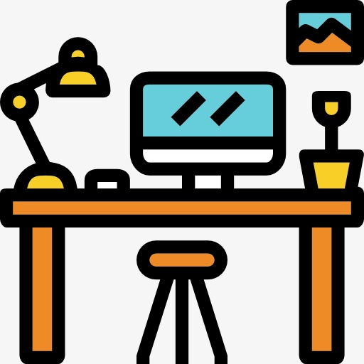 Workbench Icon, Color Table, Computer Desk Png