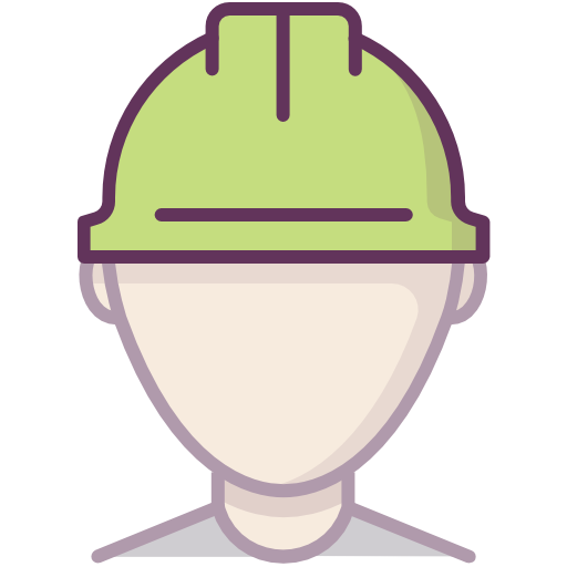 Construction, Protection, Worker, Helmet Icon Free Of Protection