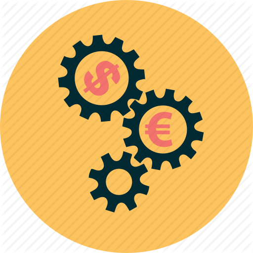 Business, Capital, Dollar, Euro, Mechanic, Money, Working Icon