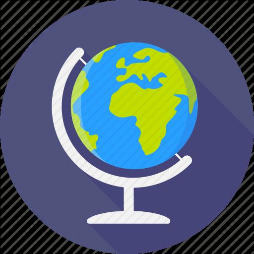 Earth, Global, Globe, Map, Planet, World, Worldwide Icon