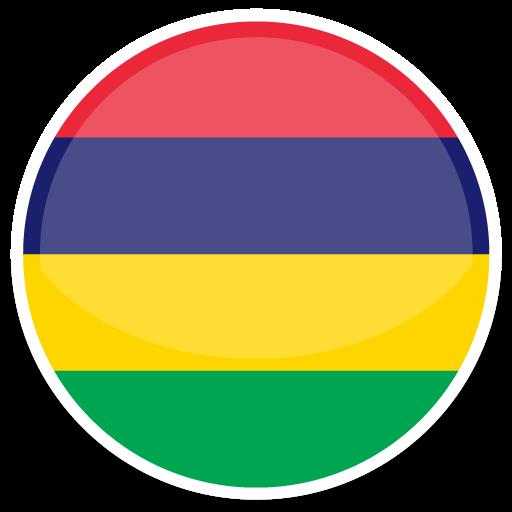 Mauritius Icon Round World Flags Iconset Custom Icon Design