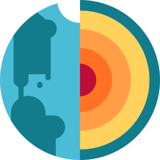 Planet Earth Flat Icon