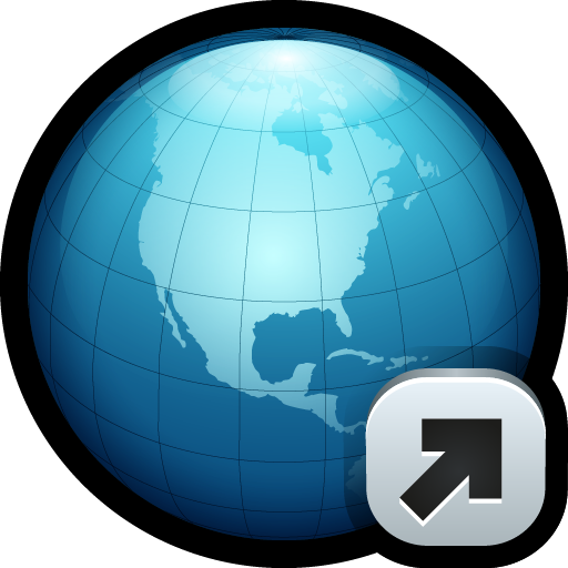 World, Globe, Link, Connect, Network, Url Icon