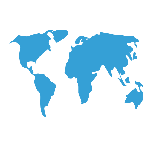 Map Of The World, World Icon With Png And Vector Format For Free