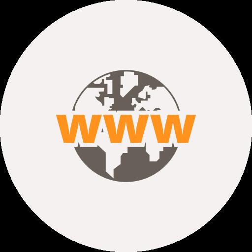 Browser, Globe, World Icon