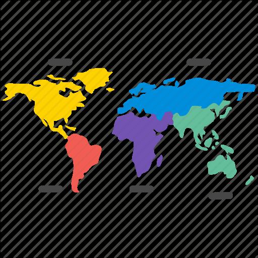 Chart, Diagram, Infographic, Map, Presentation, Stat, World Icon