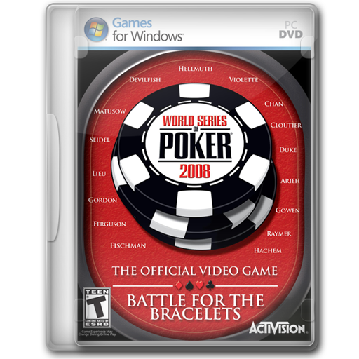 World Series Of Poker Icon Game Cover Iconset Jeno Cyber
