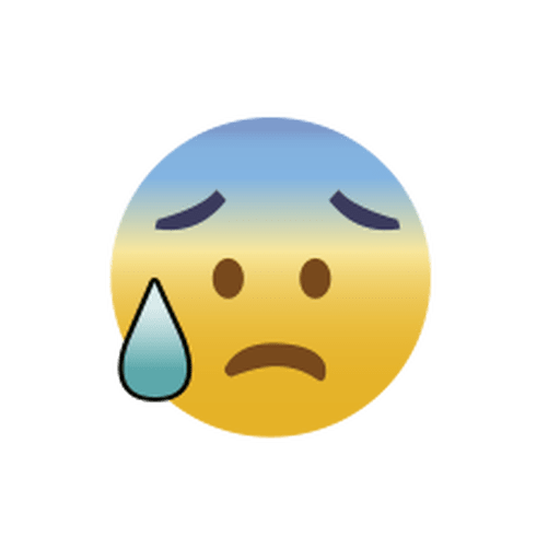 Worry Emoji Emoticon