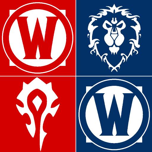 World Warcraft Alliance Icon