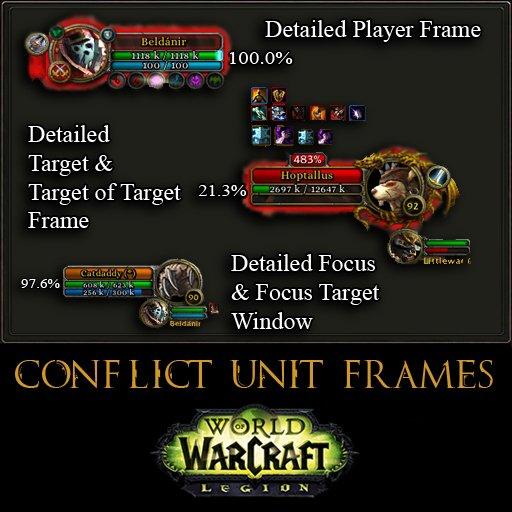 Graphic Ui Mods World Of Warcraft Addons