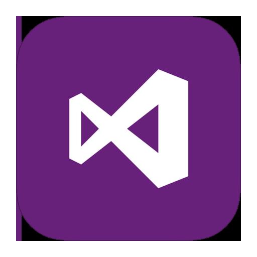 Visual Studio Icon Metro Style Images