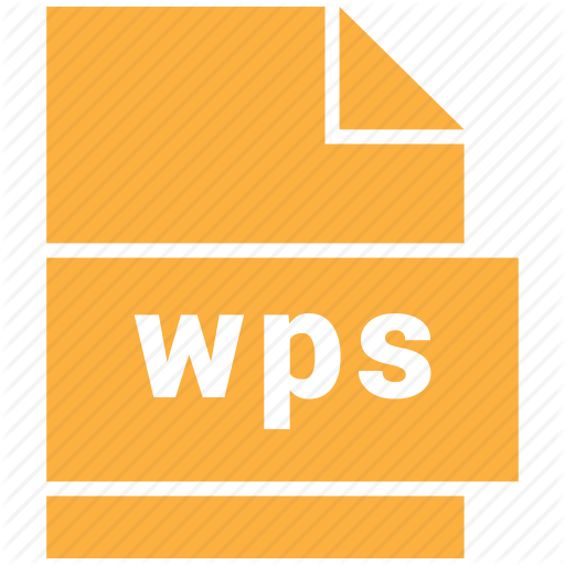 Document Format, Wps Icon