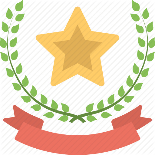 Award And Insignia, Laurel Wreath, Laurel Wreath Award, Star Award