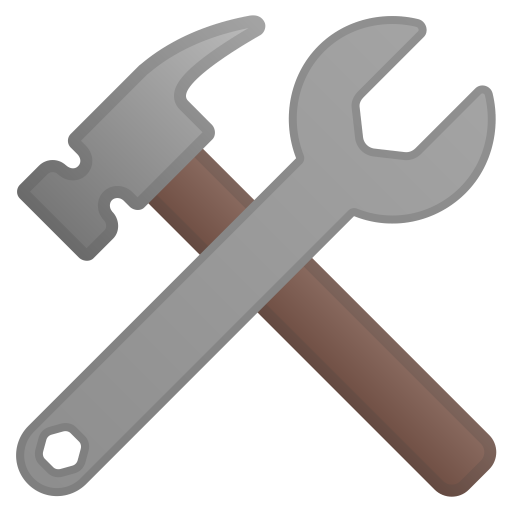 Hammer And Wrench Icon Noto Emoji Objects Iconset Google
