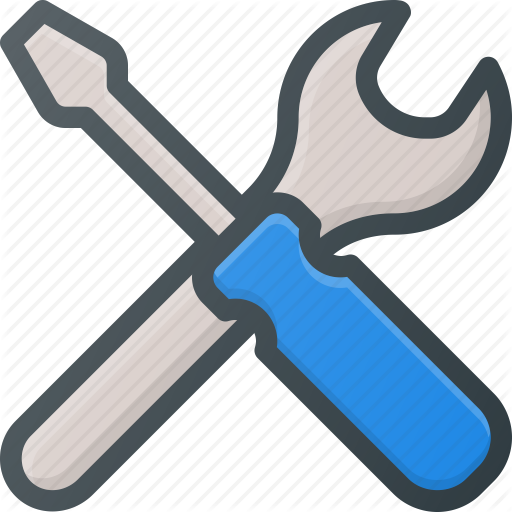 Screwdriver, Set, Settings, Setup, Tools, Wrench Icon