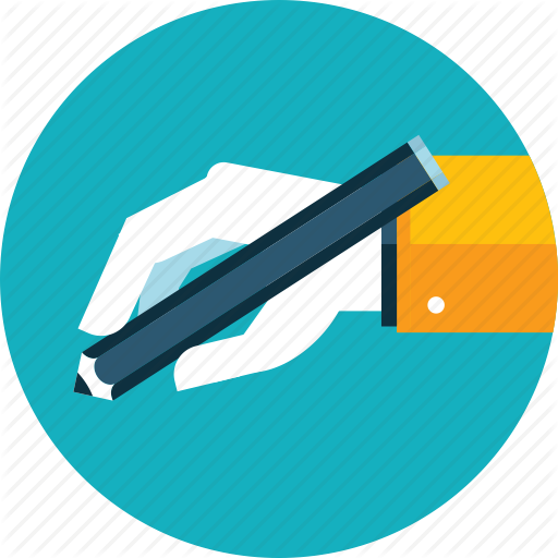 Copywriting, Education, Hand, People, Text, Writing Icon