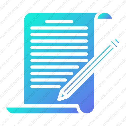 Download Writing Icon Inventicons