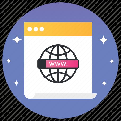 Internet Symbol, Networking, Web, Website, Icon