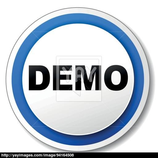 Vector Demo Icon Vector