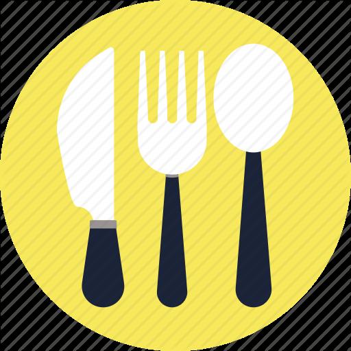 Cutlery, Icon, Knife, Spoon, Vector Icon