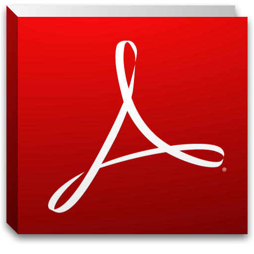 Adobe Reader X Icon