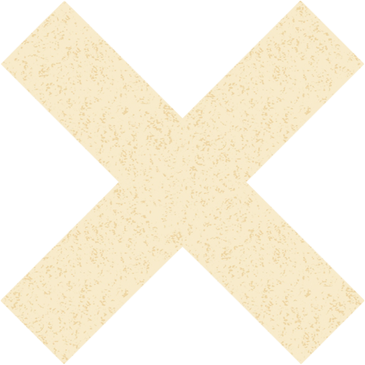 Old Paper X Mark Icon