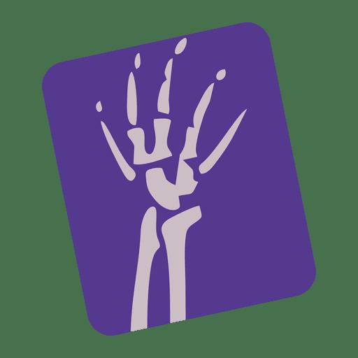 Broken Wrist Xray Icon
